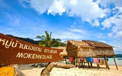 Moken Village